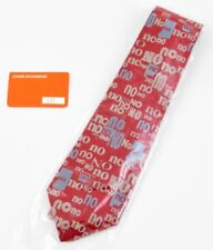 LOUISE BOURGEOIS 'Cultural Tie (No No No)', 2000 SIGNED Neck Tie #284/300 *NEW*