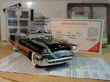Danbury Mint 1955 Packard Caribbean 1:24.Rare Le.New In Box.Docs.Pristine