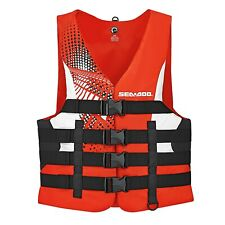 SEA-DOO MEN'S MOTION LIFE JACKET P/N 2858761430 2XL RED