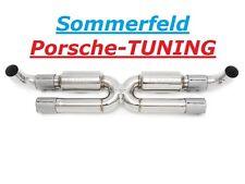 Porsche 991.2  MK2 X-Pipe Mittelschalldämpfer Sportauspuff Sport Center Muffler