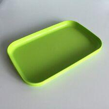 Ramzan Tupperware Green Activity Tea Snack Picnic Plates Food Beverages Tray