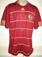 RUSSIA 2009-11 HOME SHIRT ADIDAS SIZE L