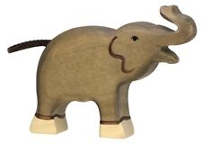 HOLZTIGER 80150: Small Elephant Playing, Collectable Wooden Toy NEW