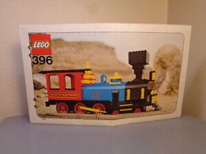 LEGO DENMARK 1970'S ASSEMBLY GUIDE SHEET FOR THATCHER PERKINS LOCOMOTIVE #396