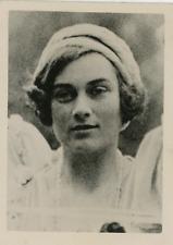 Portrait de Alice Montagu-Douglas (fiancée du Duc de Gloucester). Vintage silver