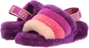 UGG Women's Fluff Yeah Slide Slipper 1097169 Berrylicious Multi Sz 5-12 NEW