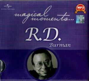 R.D. BURMAN MAGICAL MOMENTS - BOLLYWOOD HINDI MP3 & NOT A CD.