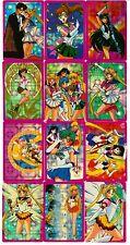 Sailor Moon Prism Saturn Uranus Sticker Card Set of 49 - Anime Animation Lot