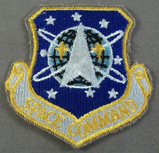 US Air Force Space Command Full Color Cut Edge Patch