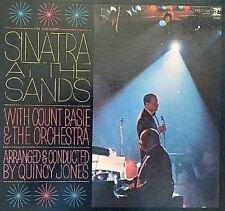 "Frank Sinatra At The Sand 1966 UK gatefold Reprise vinyl 12""33rpm double LP (g-)"