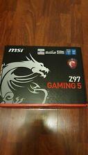 MSI Z97 GAMING Gaming 5 ATX Intel Motherboard LGA 1150