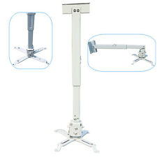 Universal DLP Projector Ceiling Bracket Steel Wall Mounts 44lbs Extendable Stand