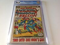 CAPTAIN AMERICA 156 CGC 9.2 WHITE PAGES 1950S CAP AND BUCKY MARVEL COMICS