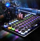 LED+USB+Mechanical+Gaming+PC+Keyboard+Keys+Light+Up