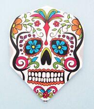 """Harrows Quadro Dart Flights """"Mexican Death Skull"""""""