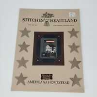 Vintage Stitches from the Heartland American Homestead Leaflet 1996