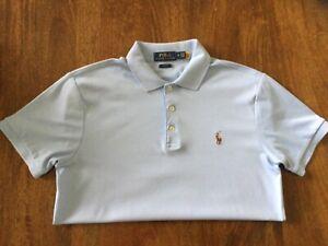 Ralph Lauren Men's Slim Fit Soft Cotton Polo Shirt, size medium, mint condition.