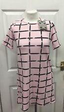 Boohoo Pink Dress, New, Size 8, EU 36