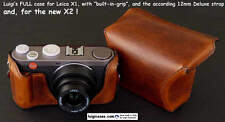 LUIGI's FULL CASE for LEICA X2 and X1,FINEST DIGITAL COMPACT,SOME READY TO SHIP.
