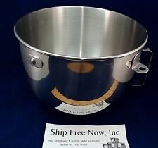9707678 - 5QT Stainless Steel Bowl w/ Handle for KitchenAid Stand Mixer-