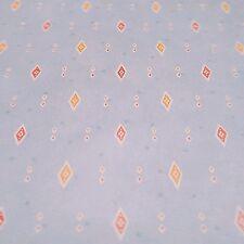 Vintage Wallpaper Blue Field multi-colored Diamonds by Motif