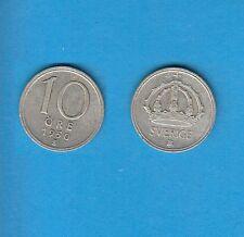 § Suède Sweden  Silver Coin 10 öre en Argent 1950