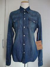 TRUE RELIGION Jeans GEORGIA LONESTAR Damen Jeanshemd Hemd Gr.L NEU mit ETIKETT