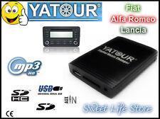 YATOUR USB AUX SD CDC Interfaccia Lettore MP3 Radio FIAT STILO CROMA BRAVO 500