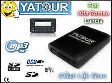 YATOUR Adattatore Iinterfaccia AUX USB mp3 Autoradio FIAT ALFA LANCIA Emulatore