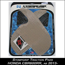 STOMPGRIP Traction Pads,HONDA CBR 600RR,à partir de 13 transparent,Réservoir,