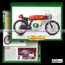 #006.10 Fiche Moto HONDA-6 RC 166 250 GRAND PRIX GP 1964-66 Motorcycle Card
