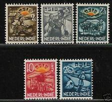 Ned. indie  catnr 230-4  postfris (MNH)