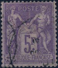 FRANCE SAGE N° 95 LÉGÈRE OBLITÉRATION COTE 90€