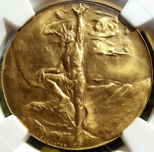 1901 Pan-American Exposition Medal - NGC MS67 - HK289 - Buffalo NY Token, Gem BU