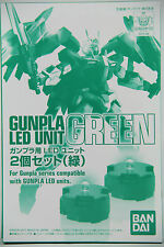 Bandai MG 1/100 Gundam Gunpla LED Unit GREEN (2 Piece Set)