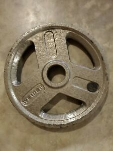 2 Weider 25lb Olympic Weight Plate