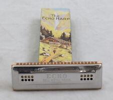 Hohner 56CG Echo Harp 48 Hole Tremolo Harmonica, Key of C/G