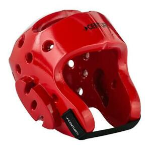 Century Martial Arts Sparring Headgear Red Adult M/L New Karate Tae Kwon Do