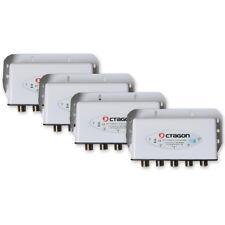4x Octagon DiSEqC interrupteur 4/1 COMMUTATEUR Commutateur HDTV 3D