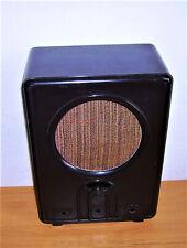 Radiogehäuse  -  orig. VE 301 w  -  Bakelit