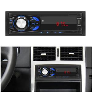 1DIN Car MP3 Player Stereo Radio 12V Bluetooth Audio SD USB AUX FM Multimedia