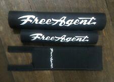 FREEAGENT classic black padset BMX oldschool vintage RARE
