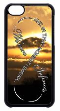Cute .Infinity Quote Pattern Black/White Hard Case Cover For Apple iPod 4 5 6