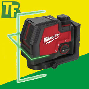 Milwaukee L4 CLL-301C USB Rechargable Green Beam Cross Line Laser Level