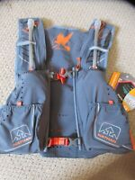 New Mens Nathan VaporKrar 2.0 Hydration Pack 4L Race Vest Running S Dark Slate