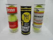 Vintage New-Unopened Tennis Balls-Mickey Mouse, Dunlop & Penn Free Ship