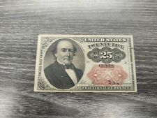 New Listing1874 25 Cent Fractional Currency United States Paper Money Note