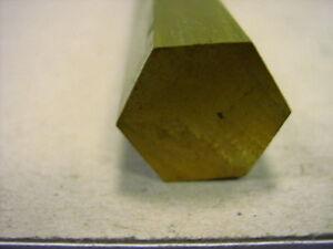 Sechskantmessing Messing Sechskant von 1 bis 12 mm  Länge 330 mm