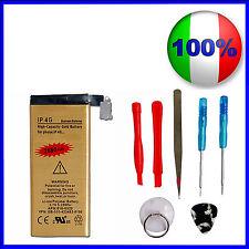 Batteria GOLD MAGGIORATA 2680mAH IPHONE 4 + KIT Smontaggio - ZERO CICLI