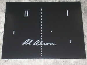 Atari PONG Creator ALLAN ALCORN Signed 8x10 Photo AUTOGRAPH